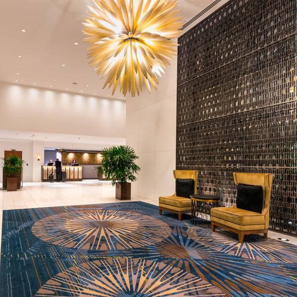 Fairmont Vancouver Hotel - lobbyk