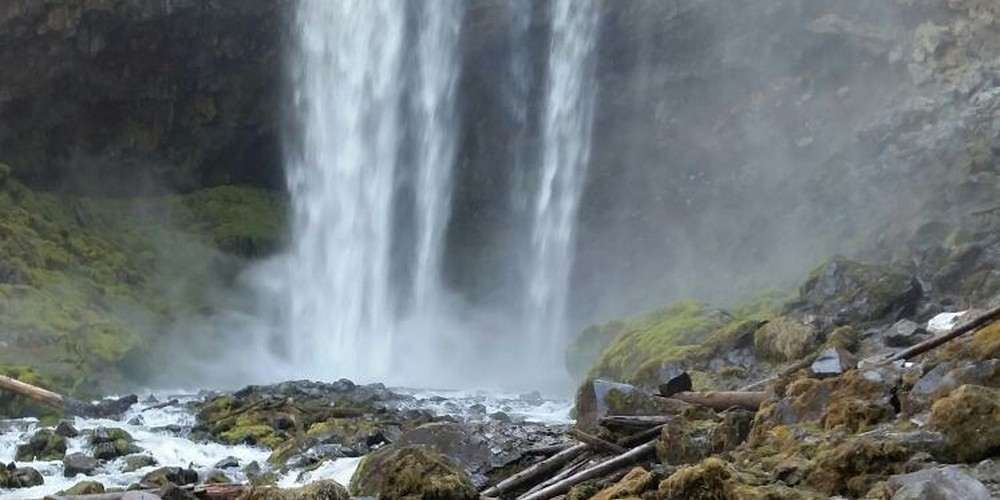 Tamanawas Falls Oregon.