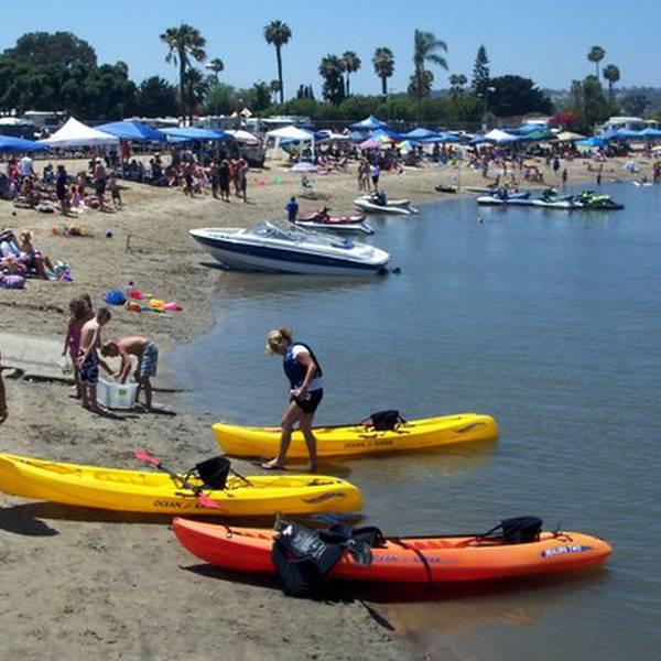 Mission Bay RV Resort, genieten op het strand