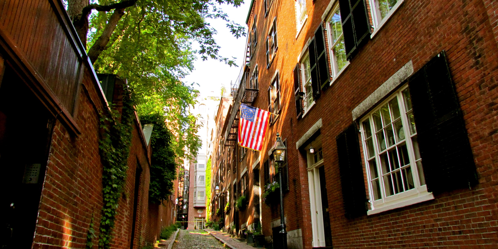 Beacon Hill - Boston - Massachusetts - Doets Reizen