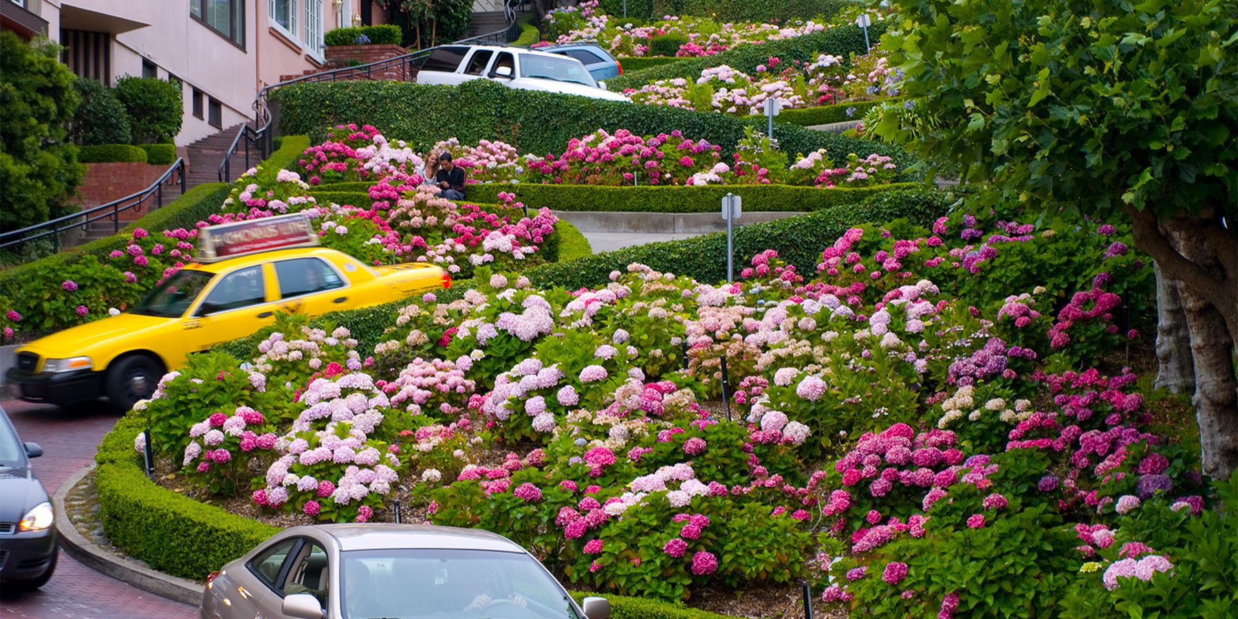 Lombard Street - San Francisco - California - Amerika - Doets Reizen
