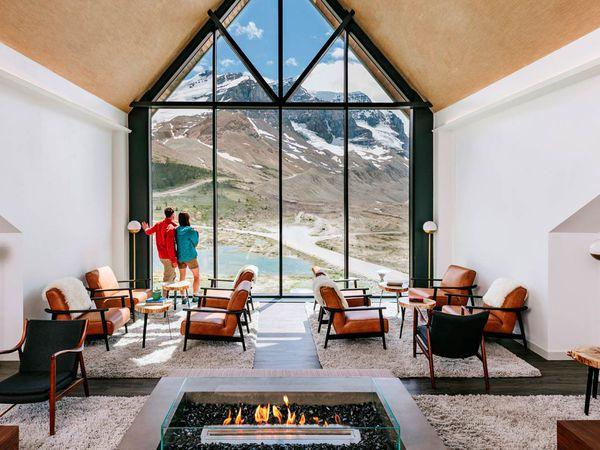 Glacier View Lodge - Icefields Parkway - Alberta - Canada - Doets Reizen