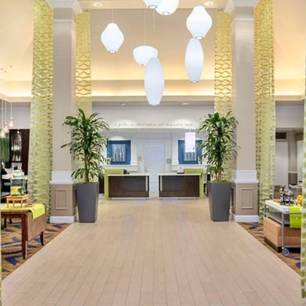Hilton Garden Inn Garden Grove - front desk
