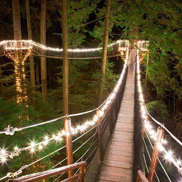 Wintersport - Capilano Suspension Bridge - Vancouver - British Columbia - Canada - Doets Reizen