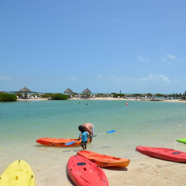 Hawks Cay Resort - lagune