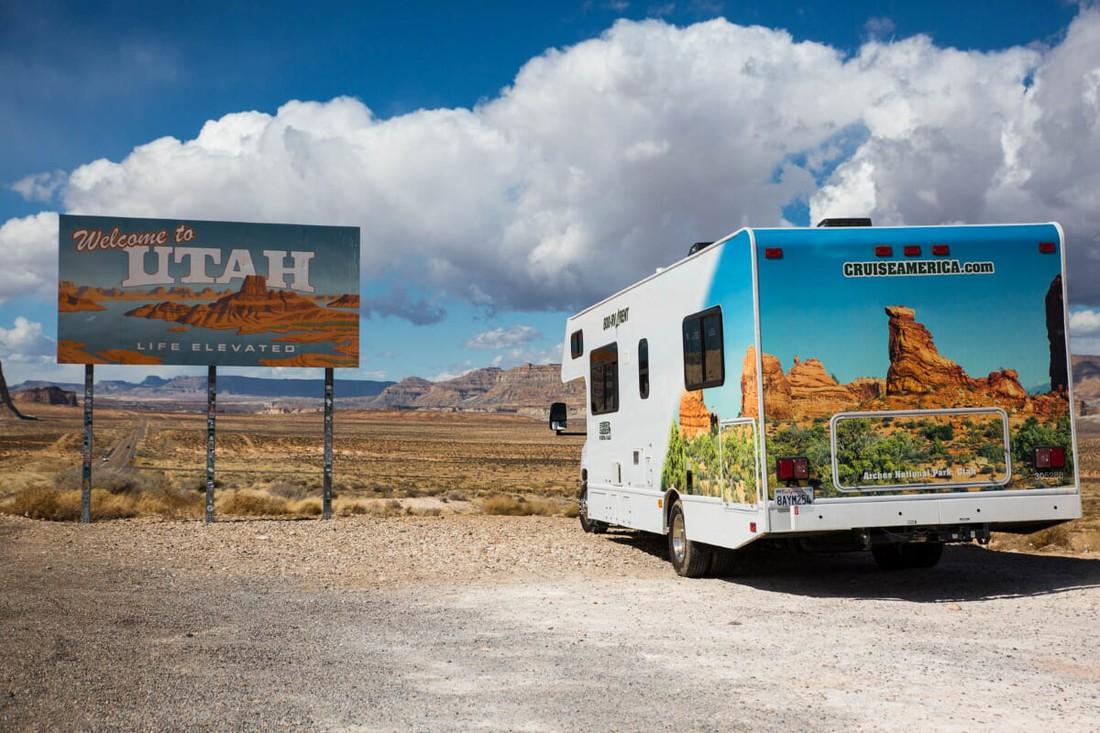 Utah - Cruise America - Camper huren Amerika -Camperreis - Doets Reizen