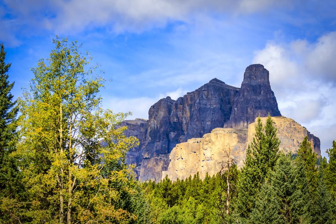 Castle Mountain - Banff National Park - Alberta - Canada - Doets Reizen