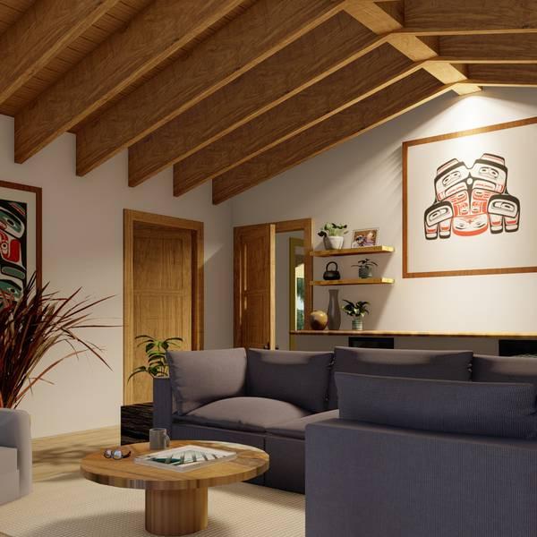 Haida House at Tllaal - Hawai Gwaii - Vakantie Canada - Doets Reizen