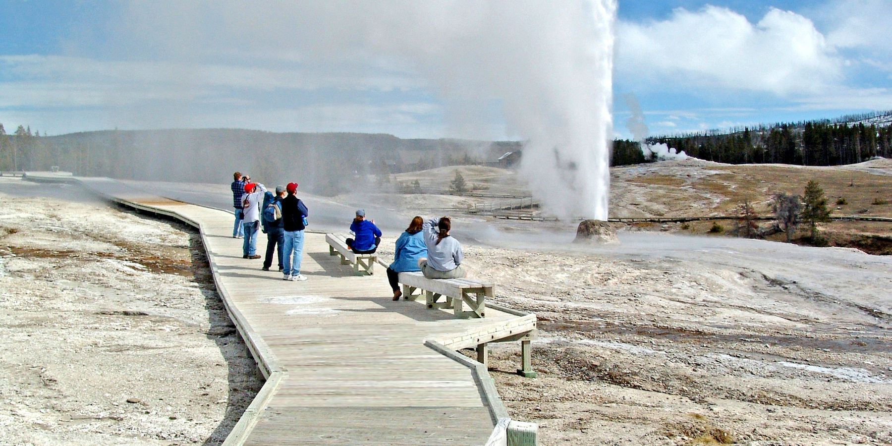 Geisers - Yellowstone National Park - Wyoming - Doets Reizen