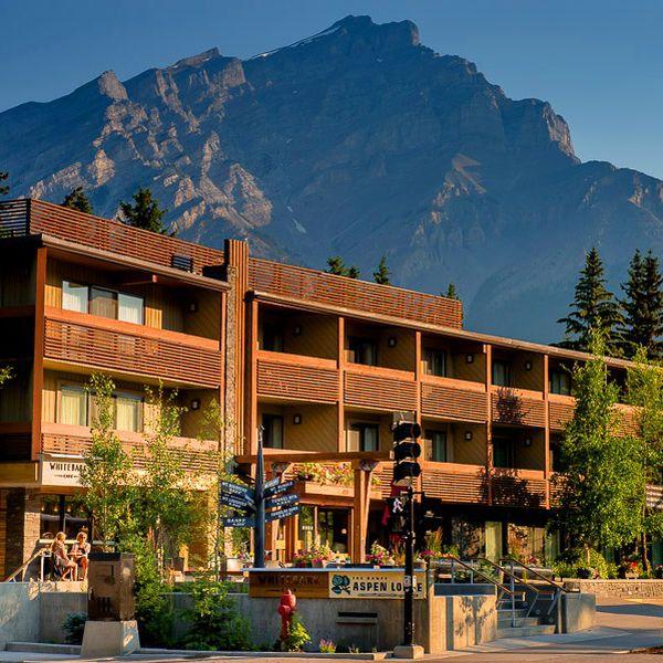 Banff Aspen Lodge Exterior