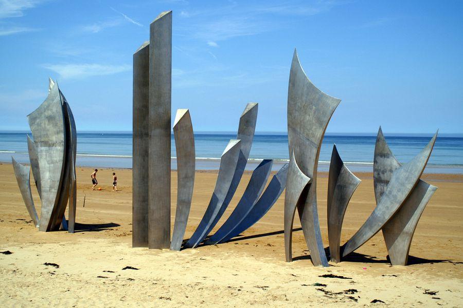 Omaha Beach Normandie Doets Reizen