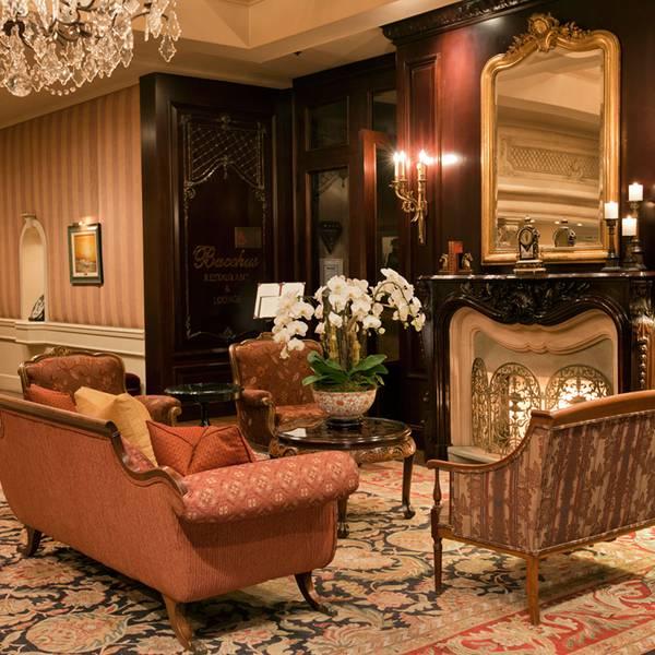 Wedgewood Hotel Vancouver - lobby
