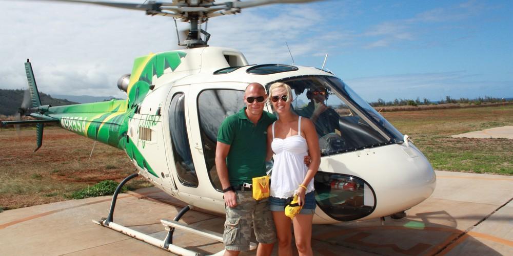 Kauai Helikoptervlucht Hawaii