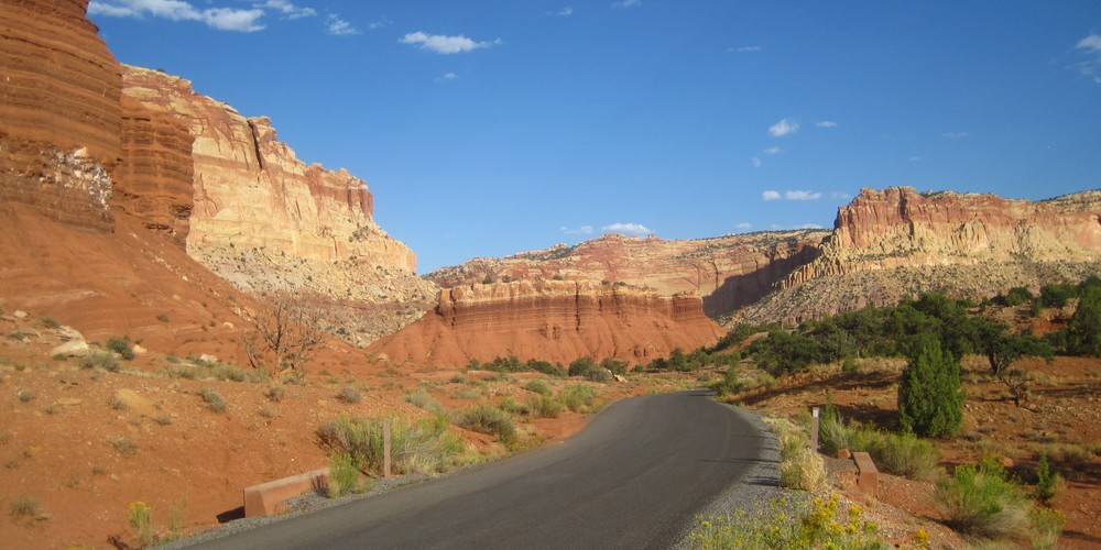 Capitol Reef NP in Utah