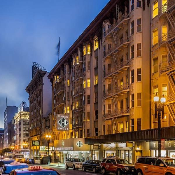 Handlery San Francisco - Aanzicht hotel