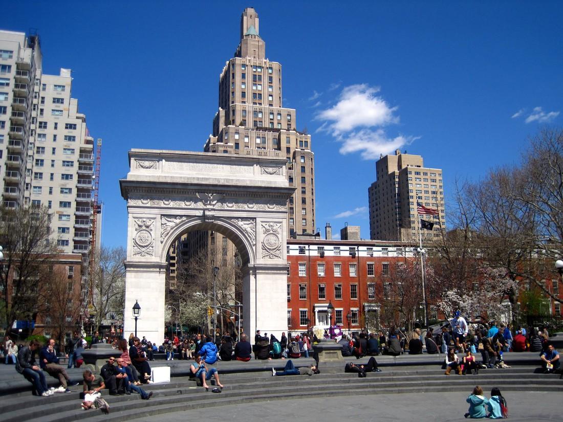 Greenwich Village in New York City