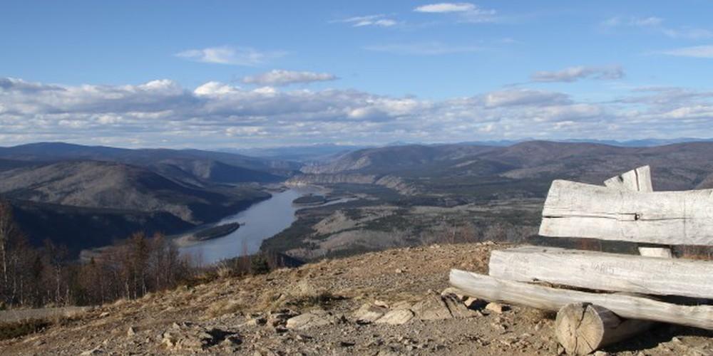 Midnight Dome Viewpoint - Dawson City - Yukon - Canada - Doets Reizen