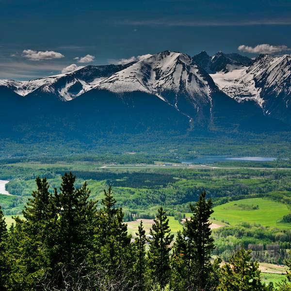 Malkow Lookout - Smithers - British Columbia - Canada - Doets Reizen