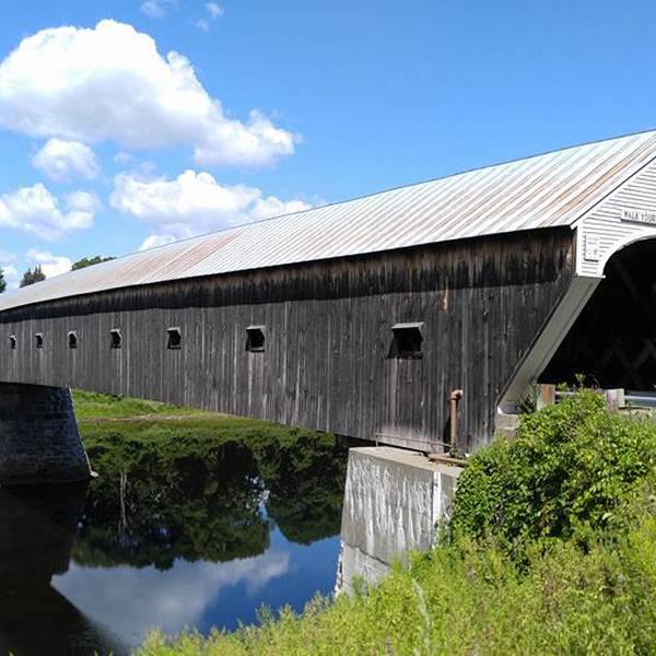 Covered Bridge - Windsor - Vermont - Amerika - Doets Reizen