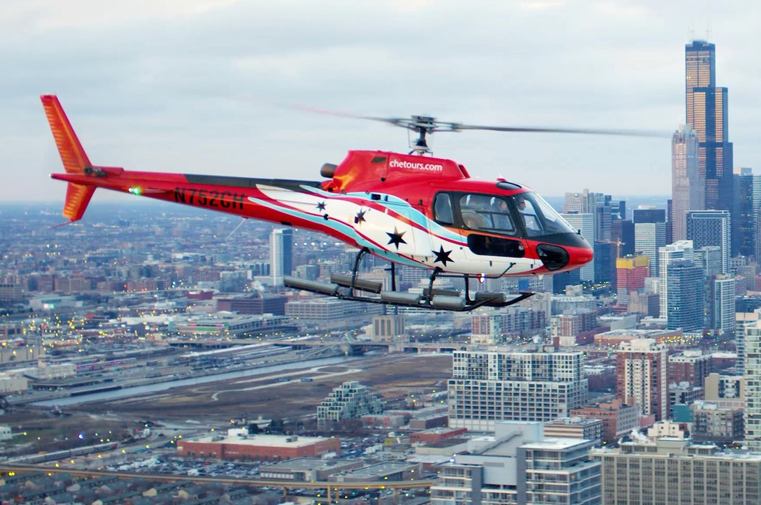 Helikopter Tour - Chicago - Illinois - Doets Reizen