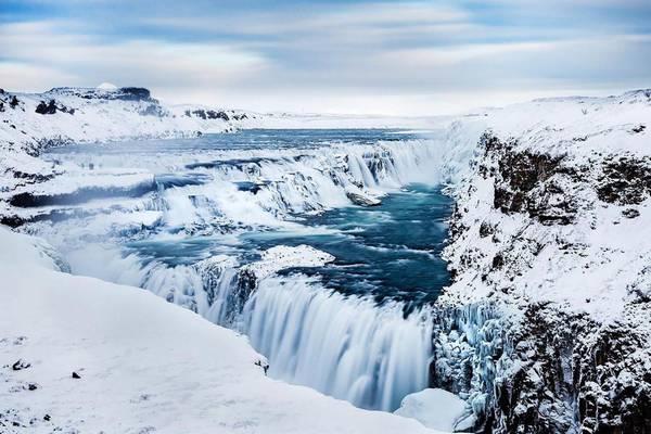 Gulfoss Waterval - IJsland - Doets Reizen