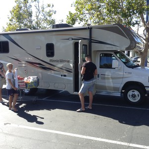 Camper ophalen en route naar Monterey - Dag 3 - Foto