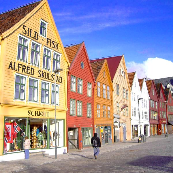 Noorwegen - Bergen
