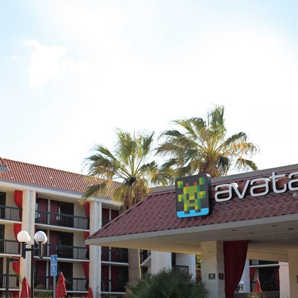 Avatar Hotel - vooraanzicht