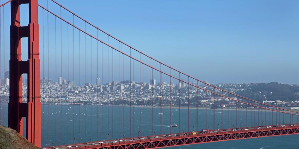 Golden Gate Bridge - San Francisco - California - Amerika - Doets Reizen
