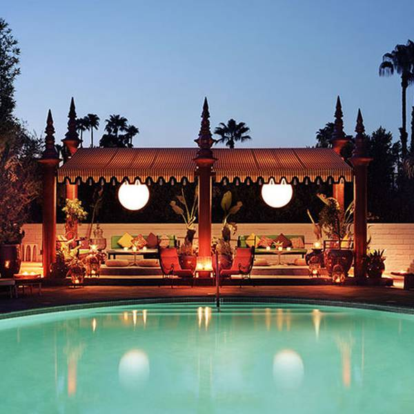 Parker Palm Springs - Buitenzwembad