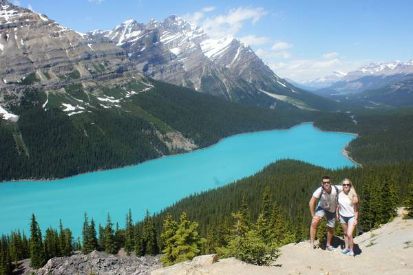 Peyto Lake - Icefields Parkway - Alberta - Canada - Doets Reizen