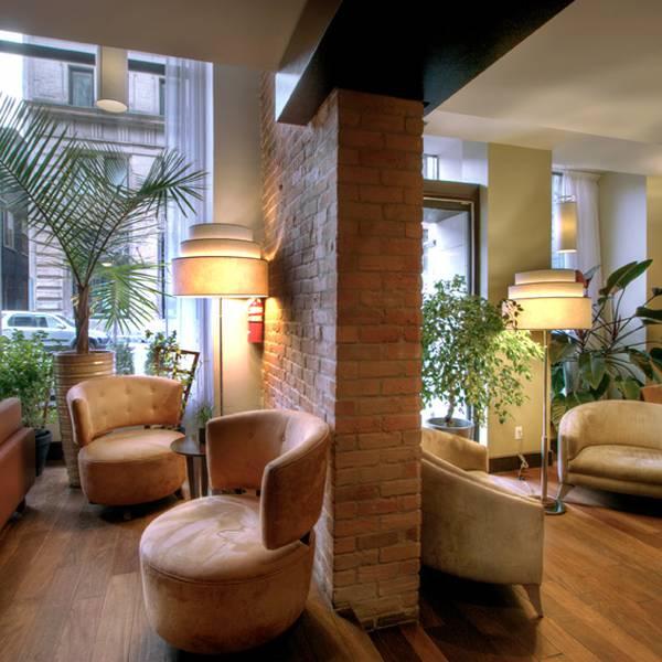 Le Place D'Armes - lobby