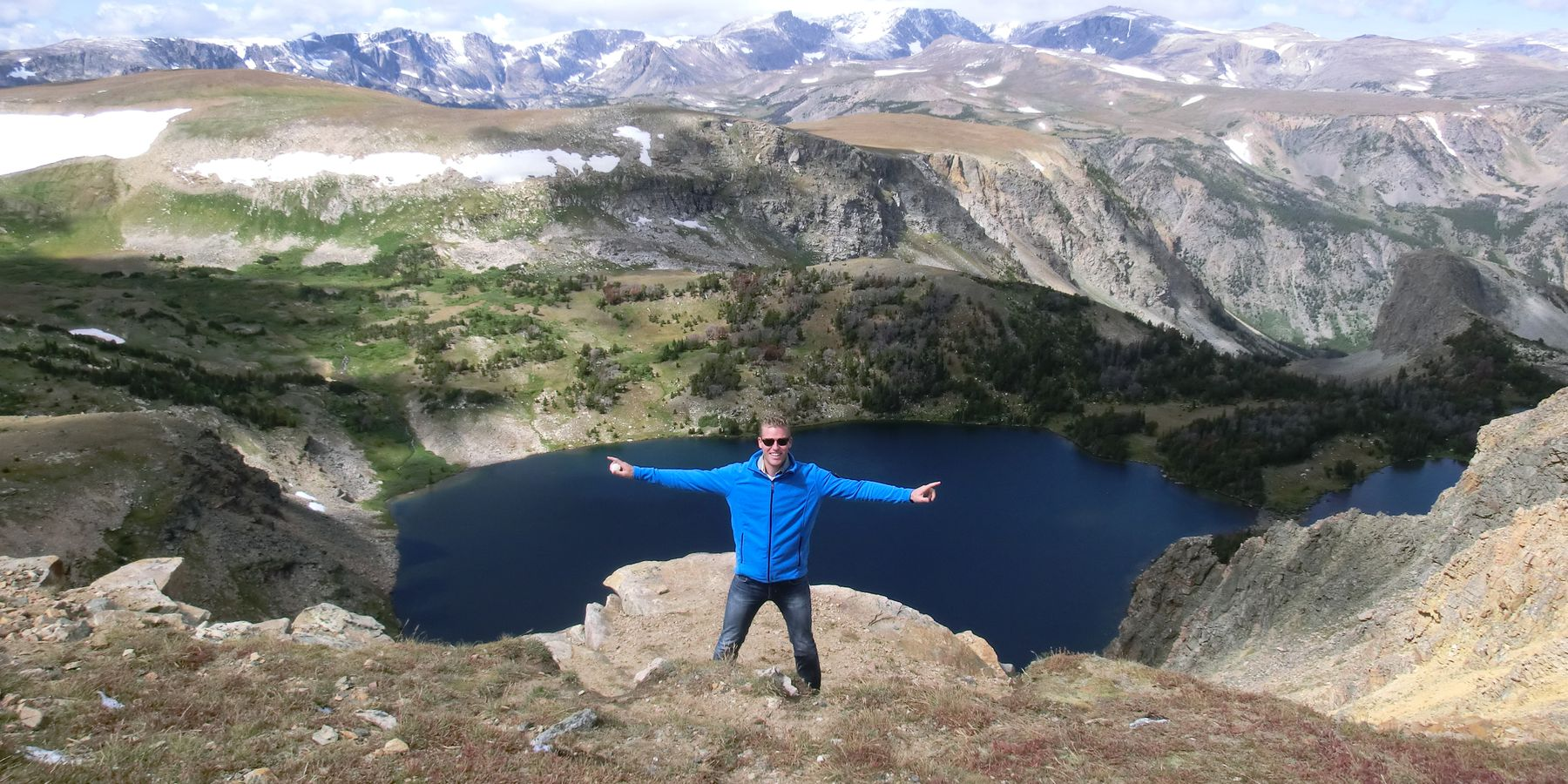 Beartooth Pass - Yellowstone National Park - Wyoming - Doets Reizen