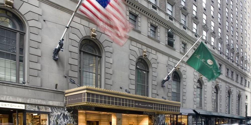 The Roosevelt Hotel - New York - Doets Reizen