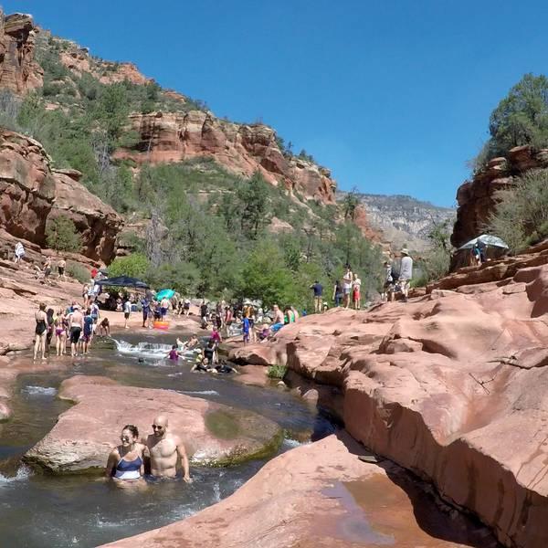 Slide Rock State Park - Sedona - Arizona - Doets Reizen