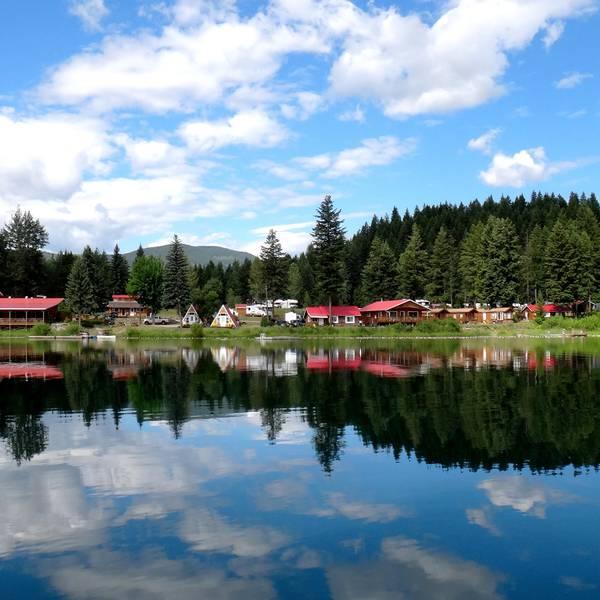 Dutch Lake Resort & RV Park, genieten op het water