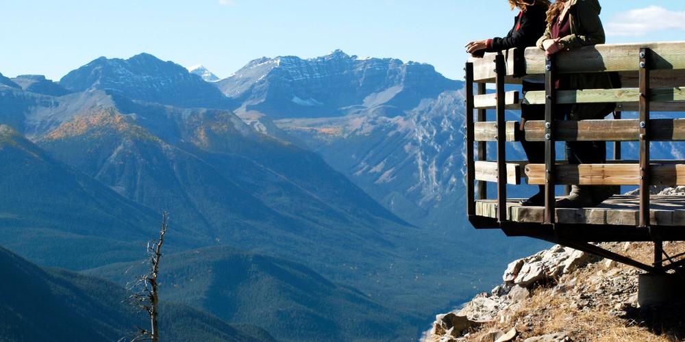Banff Gondola - Alberta - Canada - Doets Reizen