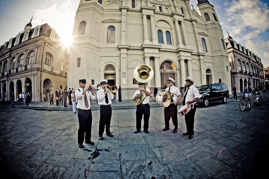 Muziek New Orleans - Lousiana - Amerika - Doets Reizen