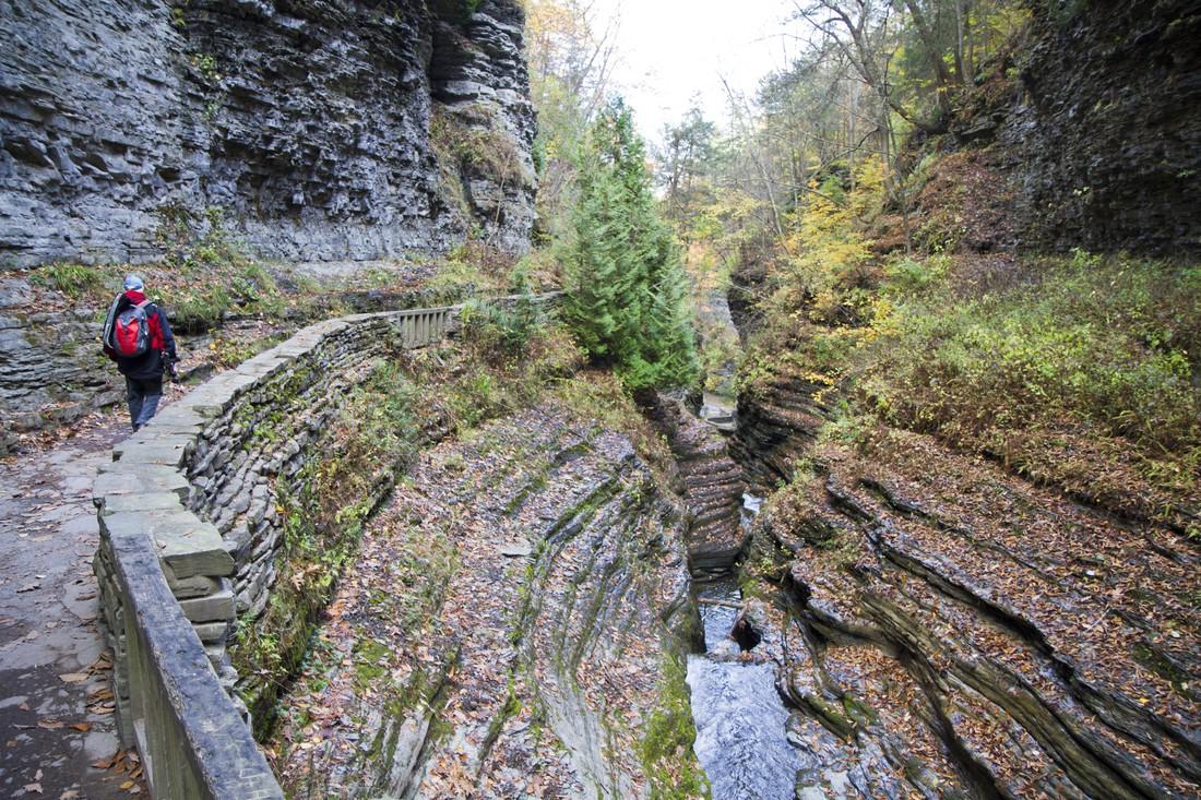 Watkins State - Glen State Park - New York State - Amerika - Doets Reizen
