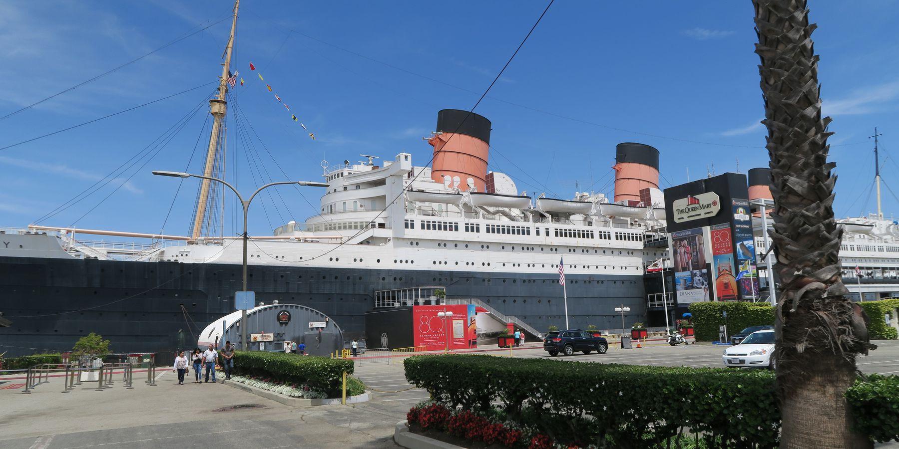 Queen Mary - Long Beach - Los Angeles - California - Amerika - Doets Reizen