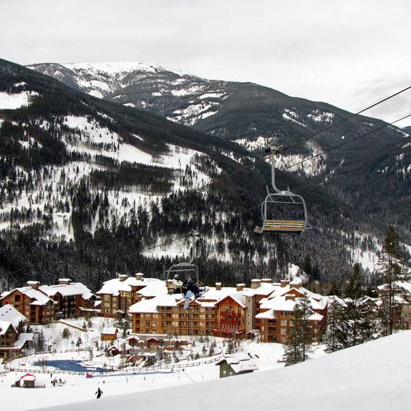 Wintersport - Panorama - British Columbia - Canada - Doets Reizen