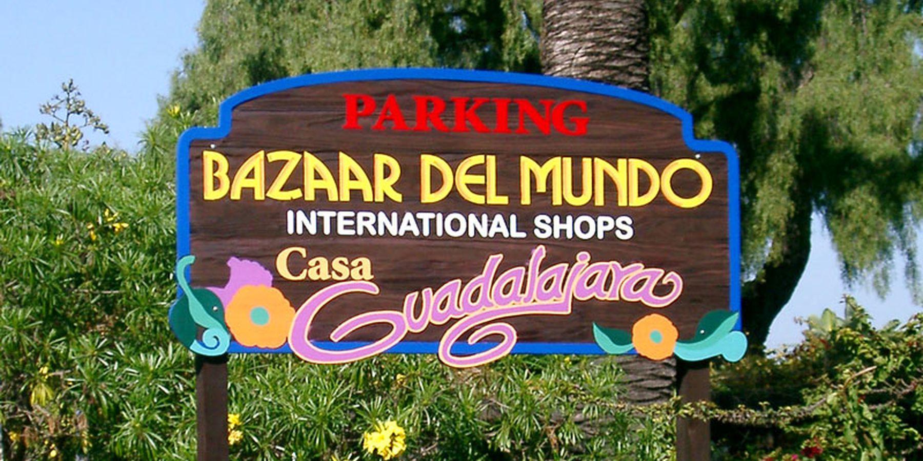 Bazaar del mundo - San Diego - California - Amerika - Doets Reizen