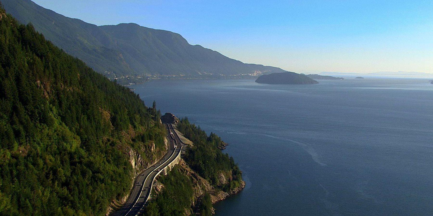 Sea to Sky Highway - Whistler - British Columbia - Canada - Doets Reizen