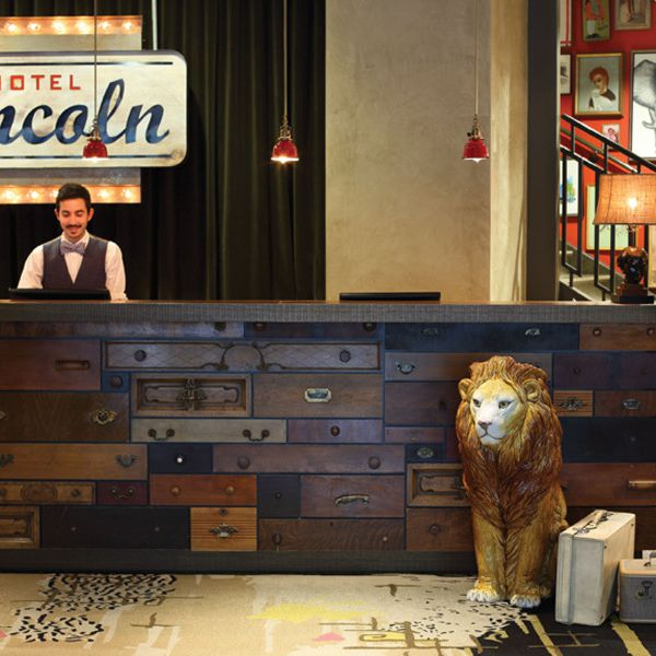 Hotel Lincoln - receptie
