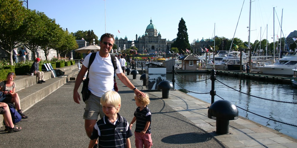 Inner Harbour - Victoria - Vancouver Island - British Columbia - Canada - Doets Reizen