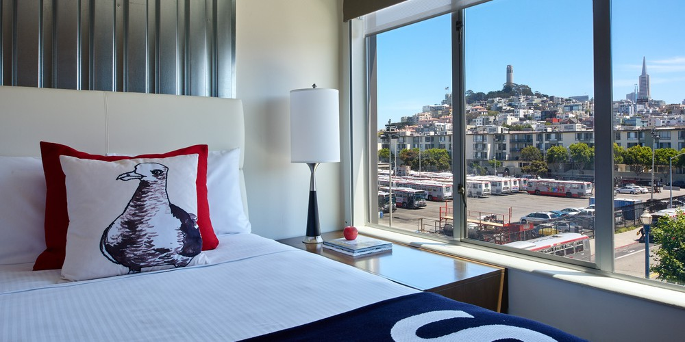 Hotel Zephyr - San Francisco - California - Amerika - Doets Reizen