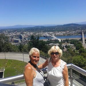 Reisdag 10 Bezoek aan Portland. - Dag 10 - Foto