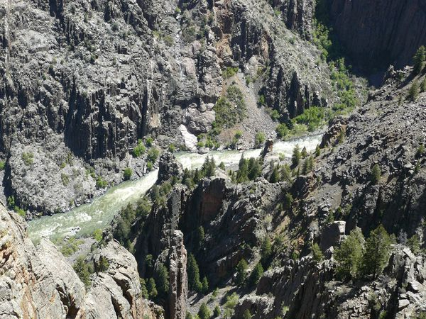 Black Canyon of the Gunnisson National Park - Colorado - Doets Reizen