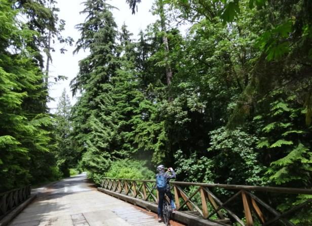 Fietsen Vancouver - British Columbia - Canada - Doets Reizen
