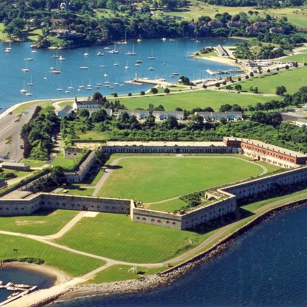 Fort Adams State Park Newport Rhode Island